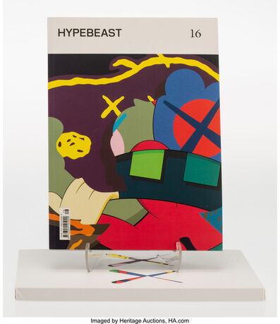 KAWS X Hypebeast, 'Issue 16: The Projection Issue (White and Pink Cover) (two works)', 2016