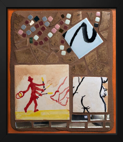 Isaiah Zagar, 'Four Arm Painter', 2018