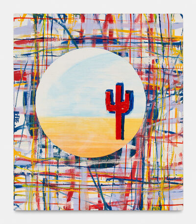 Walter Swennen, 'Untitled (cactus rouge)', 1998
