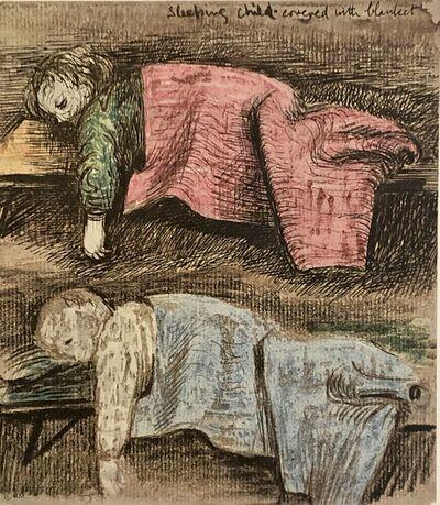 Henry Moore, 'Untitled XIII (Shelter Sketchbook)', 1967