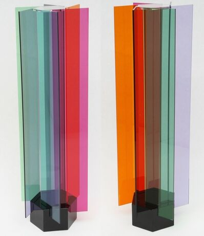 Carlos Cruz-Diez, 'Transchromie a 6 elements', 2010