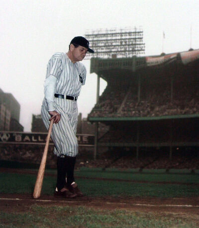 Ralph Morse, 'Babe Ruth Final Appearance', 1948