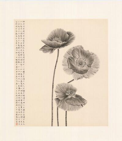 Zhang Yirong 張藝蓉, 'Poppies 牡丹', 2018