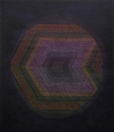 Marta Marcé, 'Tabula Rasa (Circle/Indigo)', 2019