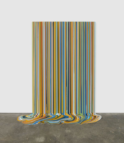 Ian Davenport, 'La Cra, Harvest (After Van Gogh)', 2018