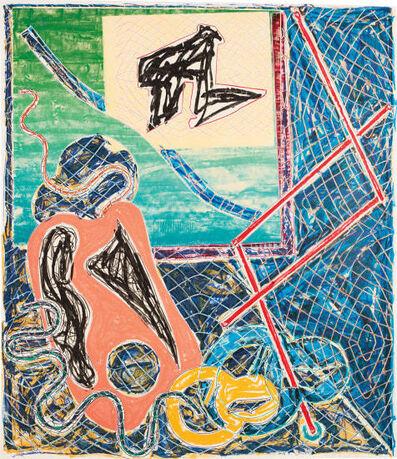 Frank Stella, 'Shards Variant 1a', 1982