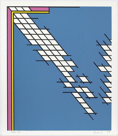 Nicholas Krushenick, 'Tail Gate ', 1978