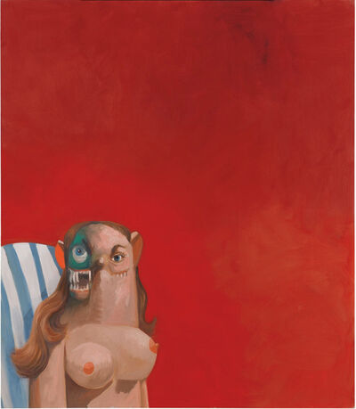 George Condo, 'Rouge et verte composition', 2006