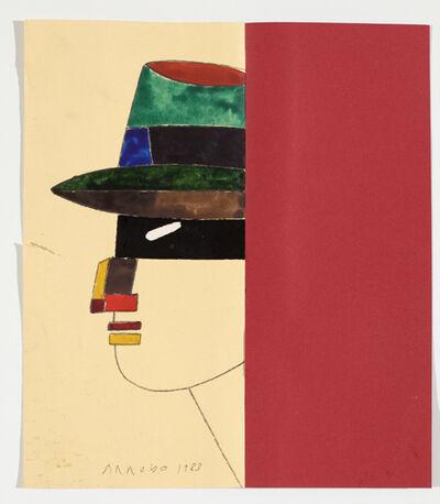 Eduardo Arroyo, 'Bürger - Citoyen 24', 1983