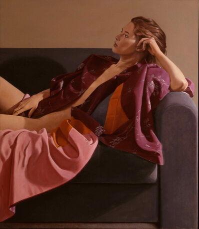 Ron Schwerin, 'Lynn in Kimono'