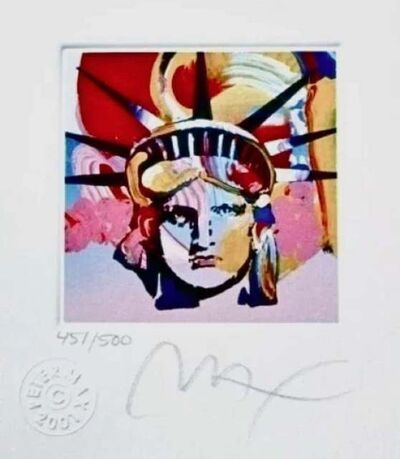Peter Max, 'Liberty Head VI', 2001
