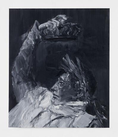 Yan Pei-Ming, 'Napoleon, Crowning Himself Emperor - Black', 2017