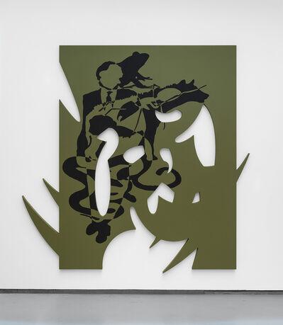 Bradford Kessler, 'Painting with black composition', 2016
