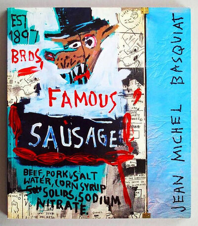 Jean-Michel Basquiat, 'Basquiat Galerie Navarra Catalogue, Paris (Brother Sausage)', 1989