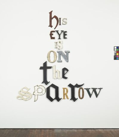 Jack Pierson, 'His Eye is on the Sparrow', 2014