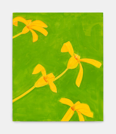 Alex Katz, 'Untitled, yellow-green', 2019