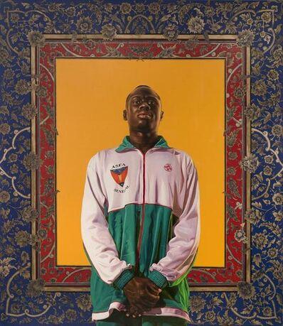 Kehinde Wiley, 'Idrissa Ndiaye', 2012
