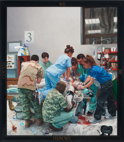 Steve Mumford, 'Dying Soldier', 2009