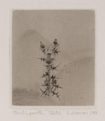 Gunnar Norrman, 'Tistel (Thistle)'