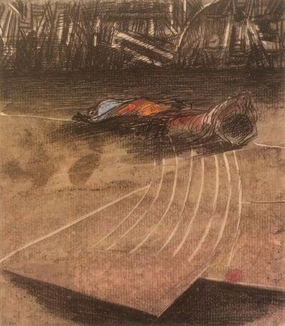 Henry Moore, 'Untitled XXXVII (Shelter Sketchbook)', 1967