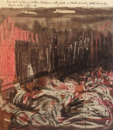 Henry Moore, 'Untitled XXVIII (Shelter Sketchbook)', 1967
