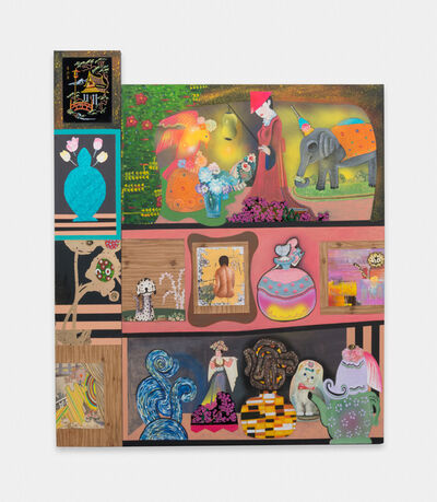 Phyllis Bramson, 'The Collector's Wife's Collection (All That She Owns!)', 2016