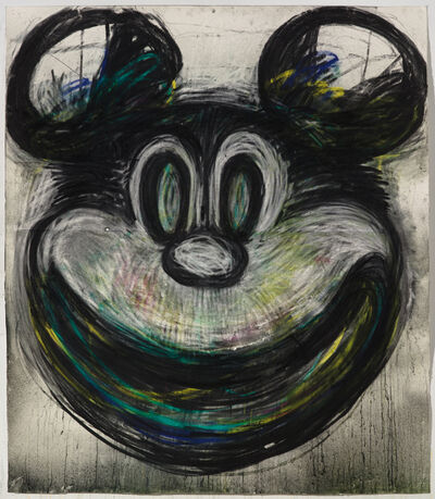 Joyce Pensato, 'Big Mickey', 2017