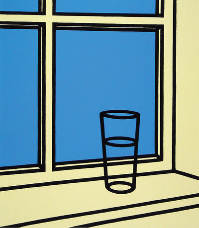 Patrick Caulfield, 'Oh Helen, I roam my room (Cristea 38 o)', 1976