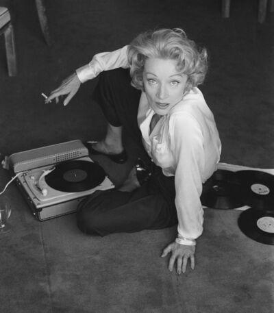 Willy Rizzo, 'Marlène Dietrich à l'hotel de Paris, Monte Carlo, 1956', 1956