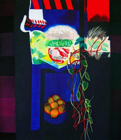 Walter Bachinski, 'Cyclamen on Model Stand (framed)', 1998