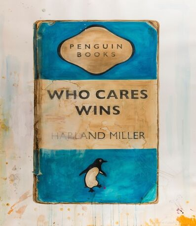 Harland Miller, 'Who Cares Wins', 2015