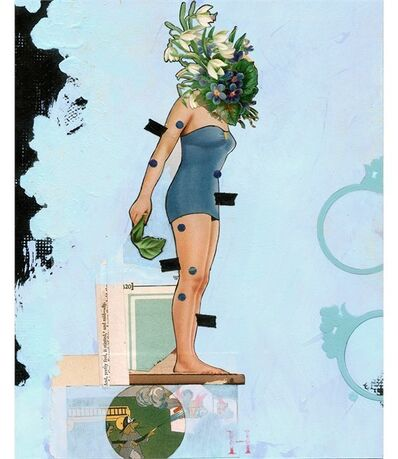 Gayle Donahue, 'Pretty Fool  10 x 8 in'