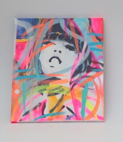 Hideki Iinuma, 'neon cross 3', 2020