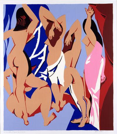 Patrick Caulfield, 'Les Demoiselles d'Avignon vues de Derriere', 1999