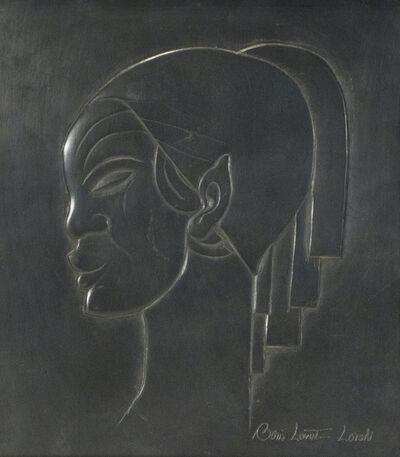 Lovet-Lorski  Boris, 'Profil de Femme', circa 1930