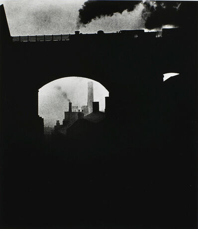 Bill Brandt, 'Train Leaving Newcastle', 1937