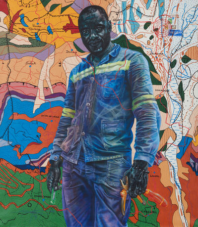 Jean David Nkot, 'Po. Box - 2470 a life of illusions', 2019