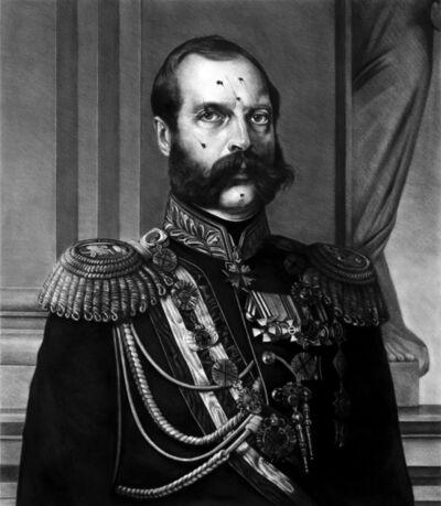 Kepa Garraza, 'Portrait of Alexander II pierced by bayonets', 2020