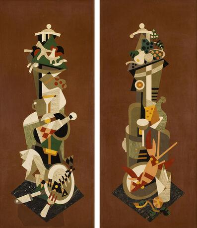 Gösta Adrian-Nilsson, 'Empty plates & Full plates', 1933