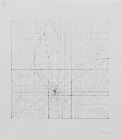 Mark Reynolds, 'Square Series: Golden Ogees, 7.17', 2017