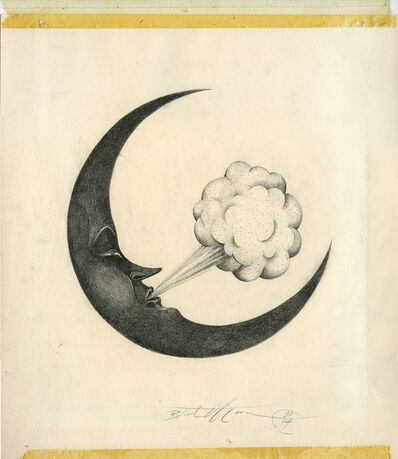 Eric Timothy Carlson, 'Blood Moon, Just a Poof', 2015