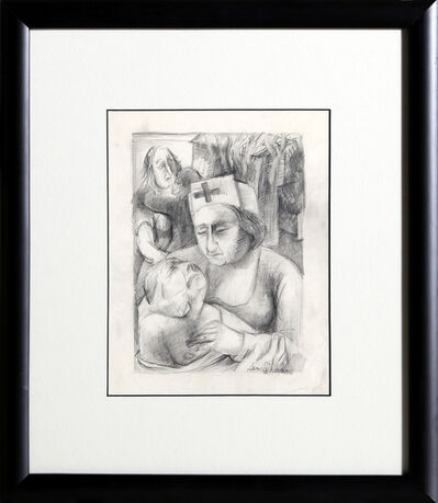Ben Shahn, 'Nurse', ca. 1950