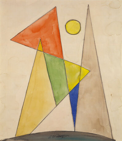 Abraham Walkowitz, 'Geometric Abstraction', ca. 1910