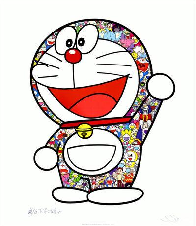 Takashi Murakami, 'Doraemon: Hip Hip Hurrah! Lithograph', 2020