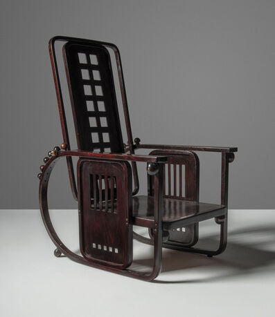 Josef Hoffmann, 'A 'Sitzmaschine' adjustable armchair, model no. 670', designed 1908