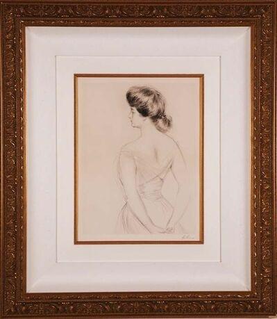 Paul César Helleu, 'La Femme du Dos', ca. 1900