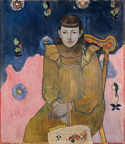 Paul Gauguin, 'Portrait of a Young Woman. Vaïte (Jeanne) Goupil', 1896