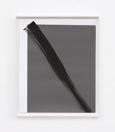 Phil Chang, 'Replacement Ink for Epson Printers (Matte Black on 75% Grey 212602) on Epson Enhanced Matte Paper', 2017