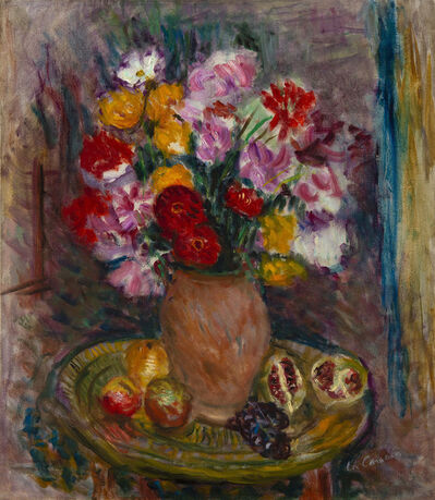 Charles Camoin, 'Nature morte au vase de fleurs et fruits', Unknown