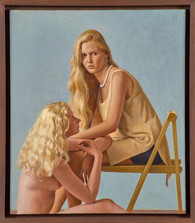 Ron Schwerin, 'Study for Ariel and Erin', 1996